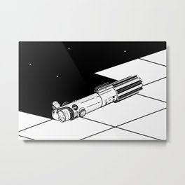 Lightsaber Metal Print
