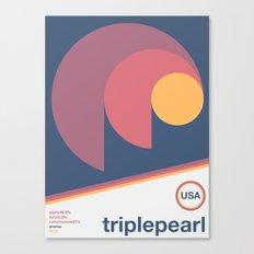 triplepearl single hop Canvas Print
