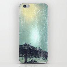 Umbrella on Beach (alt) iPhone & iPod Skin