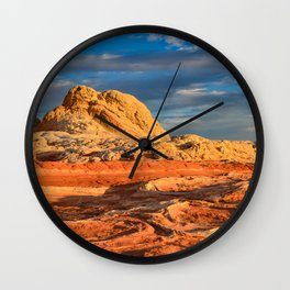White Pocket, Vermilion Cliffs - I Wall Clock