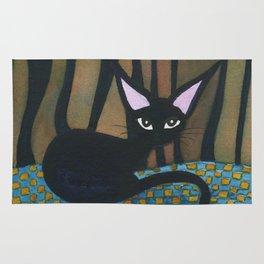 Corpus Christi Whimsical Cat Rug