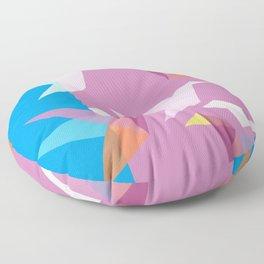 Pastel Paper Cranes Floor Pillow
