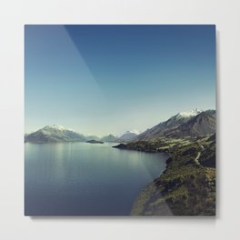 On my way to Glenorchy (Things happened to me) Metal Print