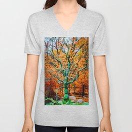 Tree Rebirth Unisex V-Neck