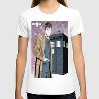 david tennant T-shirts featuring Doctor Who - David Tennant by Averagejoeart