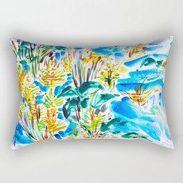 M Street Beach Rectangular Pillow