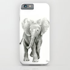 Baby Elephant Watercolor iPhone 6 Slim Case