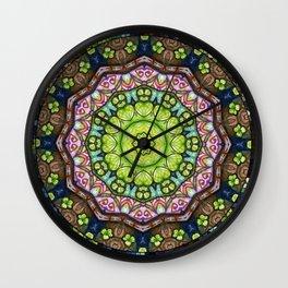 Lucky Me! Through My Kaleidoscope View #6 Wall Clock