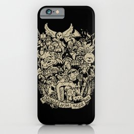 Old Friends iPhone Case