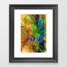 Composition Framed Art Print