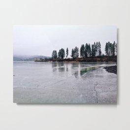 Treelines Metal Print