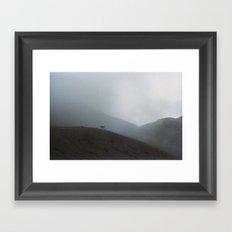 Ridge Reindeer Framed Art Print