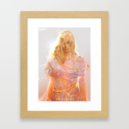 """Aphrodite (""""Charm of of the Ancient Enchantress"""" Series) Framed Art Print"""