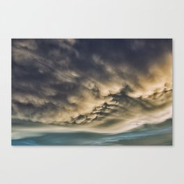 Up in the Clouds Canvas Print