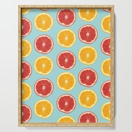 Citrus Skies Serving Tray