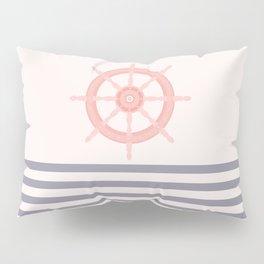 AFE Pink Nautical Helm Wheel  Pillow Sham