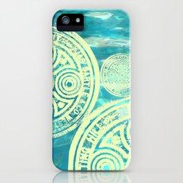 swimmingly three iPhone Case