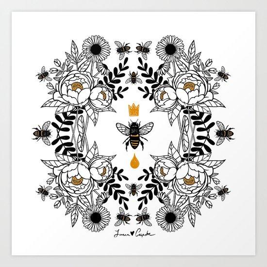 Queen Bee by joanarosac