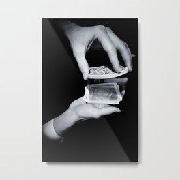 Magic Hands Metal Print