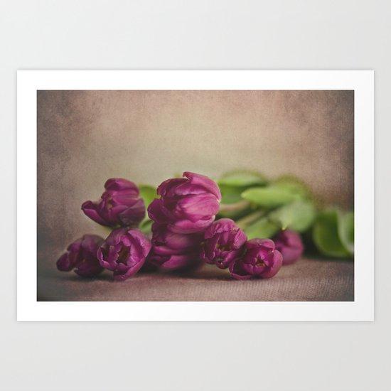 Pretty Purple Art Print