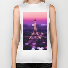 EIFFEL TOWER Biker Tank