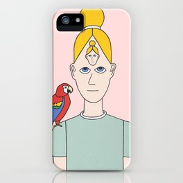Pappagallo iPhone Case