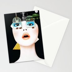 Crazy Woman - Marie Jane/Collab with Hugo Barros Stationery Cards