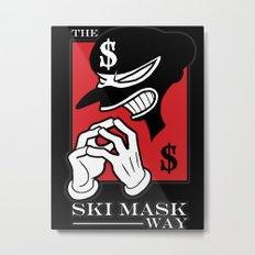 The Ski Mask Way Metal Print