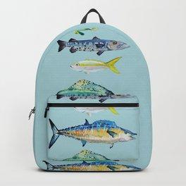 Caribbean Fish Backpack