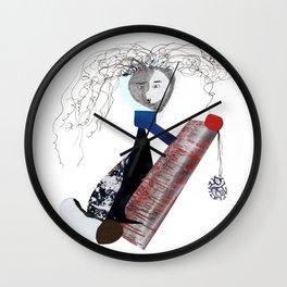 Fire Away! Wall Clock