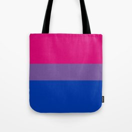 Bisexual Pride Flag Tote Bag