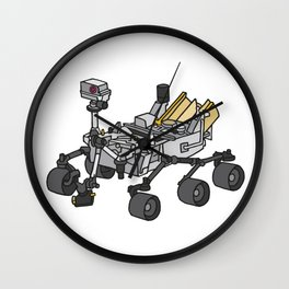 Curiosity, the Marsrover Wall Clock