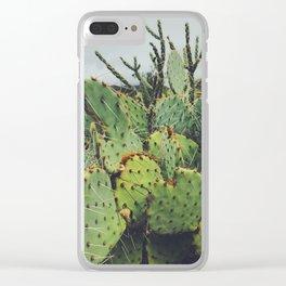 Dark Desert I Clear iPhone Case