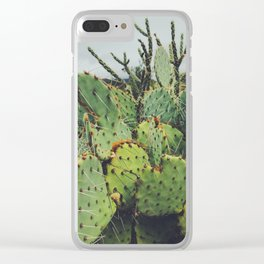 Dark Desert I Clear iPhone Case