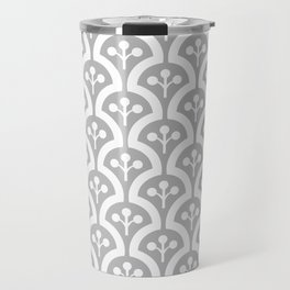 Atomic Mushroom Grey Travel Mug