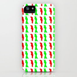 flag of Italy-Italy,Italia,Italian,Latine,Roma,venezia,venice,mediterreanean,Genoa,firenze iPhone Case