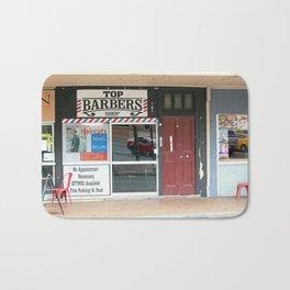 Barber Shop Bath Mat