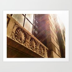 'NEW YORK CITY SUNSHINE' Art Print