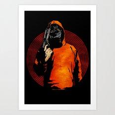 Keep Your Eye On The Prize Art Print