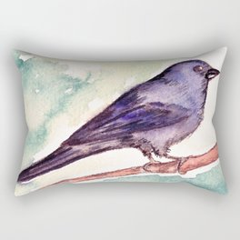 Pinzon azul Rectangular Pillow