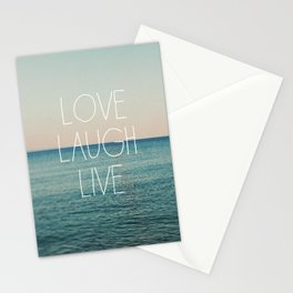 Love Laugh Live #2 Stationery Cards