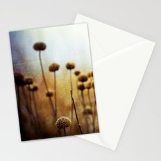 Where the Night Runs Into the Day Stationery Cards