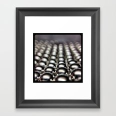 Buckyballs. Framed Art Print