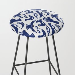 Feather tribe Bar Stool