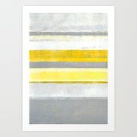 lemon Art Prints featuring Lemon by T30 Gallery