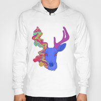 lsd Hoodies featuring LSD by DeadStag