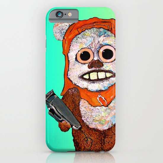 Eccentric Ewok iPhone & iPod Case