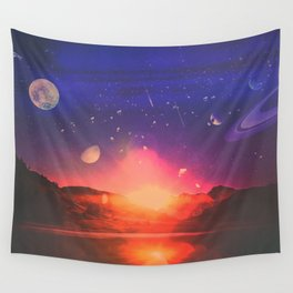 Stars Dance Wall Tapestry