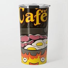 Calcifer's Cafe Travel Mug
