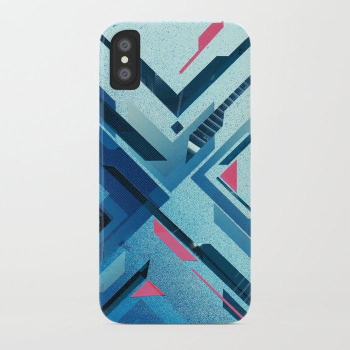 Geometric - Collage Love iPhone Case